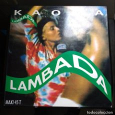 Discos de vinilo: KAOMA - LAMBADA. Lote 143009770
