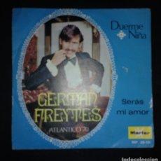 Discos de vinilo: GERMAN FREYTES – DUERME NIÑA. Lote 143009994