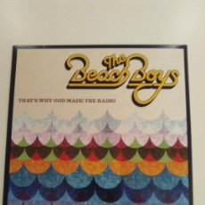 Discos de vinilo: THE BEACH BOYS THAT'S WHY GOD MADE THE RADIO ( 2012 CAPITOL EU ) BRIAN WILSON. Lote 143012178