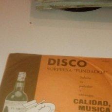 Discos de vinilo: BAL-7 DISCO CHICO 7 PULGADAS DISCO SORPRESA FUNDADOR EXITOS DE ULTIMA HORA . Lote 143012882