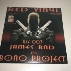 Discos de vinilo: JAMES BND AND BONO PROJECT - BLACK ASS. Lote 143014752