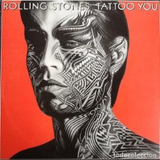 Discos de vinilo: THE ROLLING STONES – TATTOO YOU (ESPAÑA, 1981). Lote 143015114