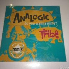Discos de vinilo: ANALOGIC TRIBE - DO YOU WANNA MINE?. Lote 143018825