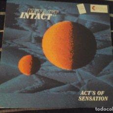 Discos de vinilo: INTACT, ACT'S OF SENSATION, BOY RECORDS . Lote 143028714