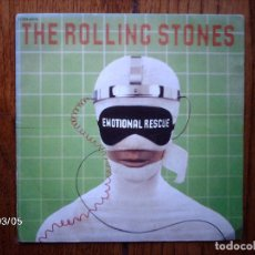 Discos de vinilo: THE ROLLING STONES - EMOTIONAL RESCUE + DOWN IN THE HOLE . Lote 143038378