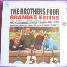 Discos de vinilo: LP - THE BROTHERS FOUR - GRANDES EXITOS (SPAIN, CBS 1972). Lote 143041642