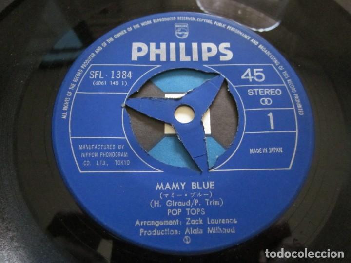 Discos de vinilo: POP TOPS - MAMY BLUE - EDICION ORIGINAL JAPONESA - PHILIPS SFL-1384. - Foto 4 - 143041666
