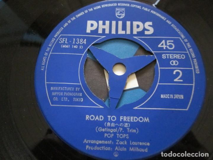 Discos de vinilo: POP TOPS - MAMY BLUE - EDICION ORIGINAL JAPONESA - PHILIPS SFL-1384. - Foto 5 - 143041666