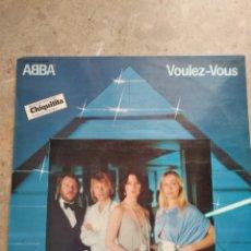Discos de vinilo: ABBA. VOULEZ-VOUS,. Lote 143042592