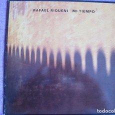 Discos de vinilo: LP - RAFAEL RIQUENI - MI TIEMPO (SPAIN, NUEVOS MEDIOS 1990). Lote 143044442