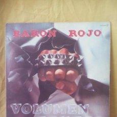 Discos de vinilo: BARÓN ROJO – VOLUMEN BRUTAL . HEAVY METAL SPAIN.1982.. Lote 143048402