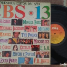 Discos de vinilo: CBS 13 LP 1983 (MECANO,CECILIA,M.BOSÉ...). Lote 147301369