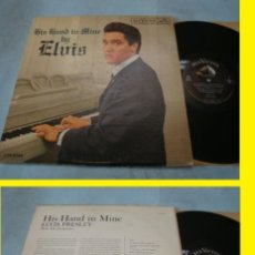 Disques de vinyle: ELVIS PRESLEY/ HIS HAND IN MINE 1960, RARA 1ª ORG EDIT CANADA MONO + RARO ENCARTE RCA, TODO EXC !!!!. Lote 143055842