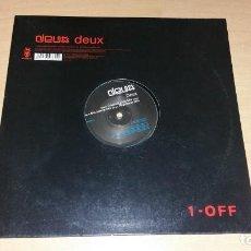 Discos de vinilo: DEUX 12 MAXI 1 OFF AÑO 2002 3 TRACKS. Lote 143058290