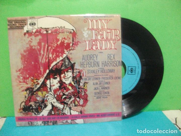 BANDA SONORA ORIGINAL MY FAIR LADY EP SPAIN 1965 PDELUXE (Música - Discos de Vinilo - EPs - Bandas Sonoras y Actores)