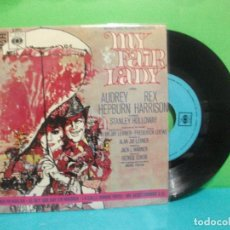 Discos de vinilo: BANDA SONORA ORIGINAL MY FAIR LADY EP SPAIN 1965 PDELUXE. Lote 143058682