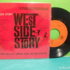 Discos de vinilo: BANDA SONORA ORIGINAL WEST SIDE STORY EP SPAIN 1962 PDELUXE. Lote 143059190