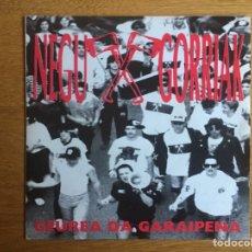 Discos de vinilo: NEGU GORRIAK: NG, GEUREA DA GARAIPENA / BESTE KOLPE BAT. Lote 143060360