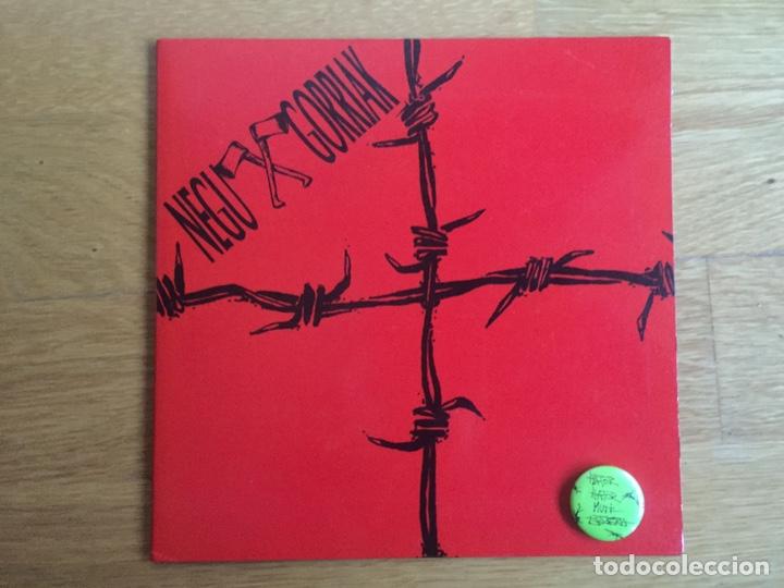 NEGU GORRIAK: HATOR HATOR / OKER DABILTZA (PRIMERA EDICIÓN CON LA CHAPA) (Música - Discos - Singles Vinilo - Punk - Hard Core)