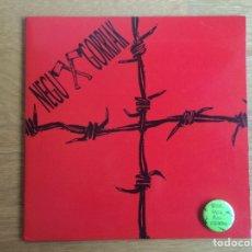 Discos de vinilo: NEGU GORRIAK: HATOR HATOR / OKER DABILTZA (PRIMERA EDICIÓN CON LA CHAPA). Lote 143060640