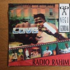 Discos de vinilo: NEGU GORRIAK: RADIO RAHIM. Lote 143061110