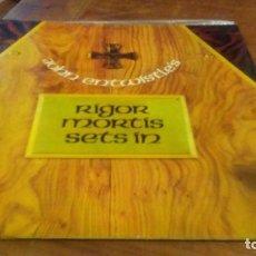 Discos de vinilo: JOHN ENTWISTLE'S RIGOR MORTIS SETS IN. DOBLE CARPETA TRAK RECORD. Lote 143063298