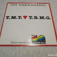 Discos de vinilo: THE COMMUNARDS_T.M.T.L.T.B.M.G._VINILO MAXI 12'' PROMO _EDICION ESPECIAL 40 PRINCIPALES COMO NUEVO!!. Lote 143065806