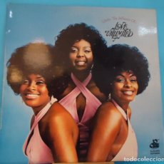Discos de vinilo: LP LOVE UNLIMITED - UNDER THE INFLUENCE OF LOVE UNLIMITED. Lote 143065970