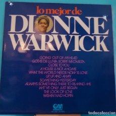 Discos de vinilo: LP DIONNE WARWICK - LO MEJOR DE DIONNE WARWICK . Lote 143066118