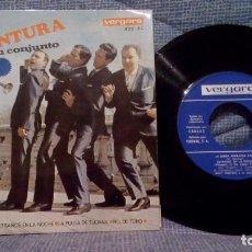 Discos de vinilo: RUDY VENTURA - LA BANDA BORRACHA / EXTRAÑOS EN LA NOCHE / LA PULGA DE TIJUANA + 1 EXCELENTE ESTADO. Lote 143066670