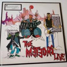 Discos de vinilo: THE METEORS LIVE- UK LP 1985- CASI NUEVO.. Lote 143069086