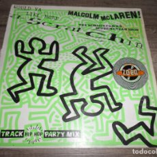 Discos de vinilo: MALCOLM MCLAREN & THE WORLD'S FAMOUS SUPREME TEAM SHOW ?– WOULD YA LIKE MORE SCRATCHIN. Lote 143069270
