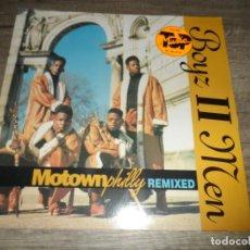 Discos de vinilo: BOYZ II MEN ?– MOTOWNPHILLY. Lote 150304310