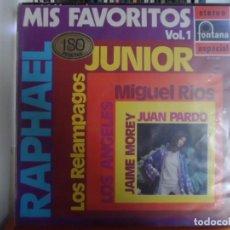 Discos de vinilo: *** MIS FAVORITOS VOL.1 - VERSIONES Y ARTISTAS ORIGINALES - LP AÑO 1970. Lote 143074158