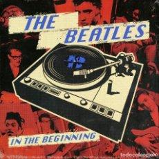 Discos de vinilo: THE BEATLES * BOX SET 5 SINGLES VINILO ROJOS * IN THE BEGINNING * LTD 1000 COPIAS * CAJA PRECINTADA. Lote 274181573