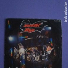 Discos de vinilo: SINGLE . BARON ROJO. LOS ROCKEROS VAN AL INFIERNO. CHAPA DISCOS H 33070. AÑO 1981.. Lote 143076266