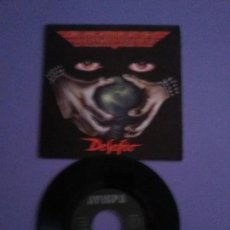 Discos de vinilo: JOYA. SINGLE. BARON ROJO, TE ESPERO EN EL INFIERNO/DESAFIO (AVISPA AS 017. AÑO 1992) - . Lote 143078226