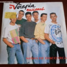 Discos de vinilo: TERAPIA NACIONAL - NIÑAS DE DISCOTECA - SINGLE. Lote 143078426