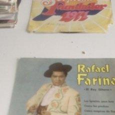 Discos de vinilo: BAL-7 DISCO CHICO 7 PULGADAS RAFAEL FARINA EL REY GITANO LOS IGUALES PARA HOY. Lote 143079574