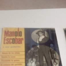 Discos de vinilo: BAL-7 DISCO CHICO 7 PULGADAS MANOLO ESCOBAR DEBAJO DE LOS OLIVOS. Lote 143080830