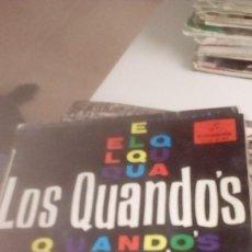 Discos de vinilo: BAL-7 DISCO CHICO 7 PULGADAS LOS QUANDOS EL QUANDO GITANO. Lote 143081126
