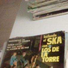 Discos de vinilo: BAL-7 DISCO CHICO 7 PULGADAS BAILANDO EL SKA CON LOS DE LA TORRE - MARIONETAS EN LA CUERDA , SEÑOR L. Lote 143082926