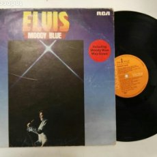 Discos de vinilo: ELVIS PRESLEY MOODY BLUE INCLUDING MOODY BLUE WAY DOWN RCA 1977. Lote 142968206
