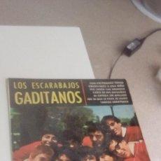 Discos de vinilo: BAL-7 DISCO CHICO 7 PULGADAS LOS ESCARABAJOS GADITANOS CON ESE PEINADO TENGO / OBSERVEMOS A UNA NIÑA. Lote 143084406