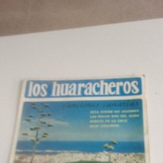 Discos de vinilo: BAL-7 DISCO CHICO 7 PULGADAS LOS HUARACHEROS 'CANCIONES CANARIOAS' ( ESTA NOCHE NO ALUMBRA - LAS FOL. Lote 143085146