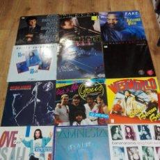 Discos de vinilo: LOTE DE 12 DISCOS LP - MAXI. AÑOS 80 - 90.DISCO DANCE,ITALO DISCO Y MAS.ESTADO EN GENERAL EXCELENTE. Lote 143095338