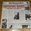 Discos de vinilo: THE HOUSTON POST LP NOWSOUNDS GROOVE..1990 GARAGE/PSYCHEDELIC ROCK - A 440 (COMPRA MINIMA 15 EUR). Lote 143112198