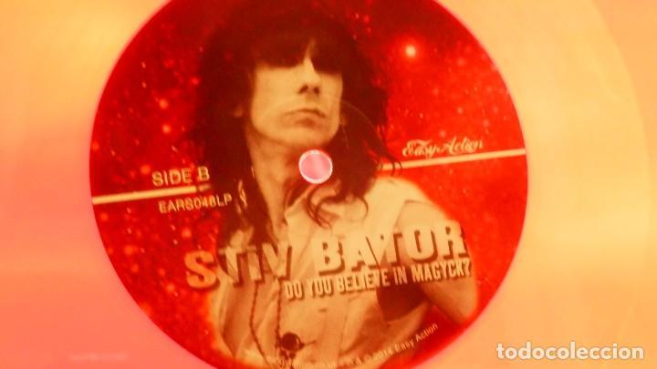 Discos de vinilo: STIV BATOR ( Lords of the new Church / Dead Boys ) Do You Believe In Magyk? LP Vinilo Rojo Precintad - Foto 7 - 177653514