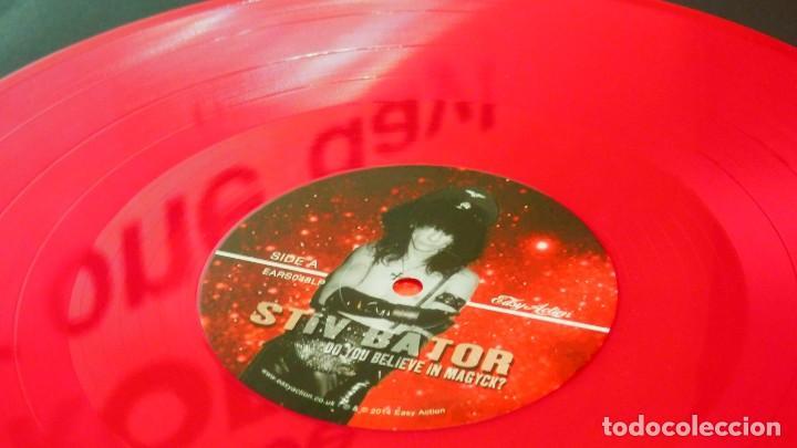 Discos de vinilo: STIV BATOR ( Lords of the new Church / Dead Boys ) Do You Believe In Magyk? LP Vinilo Rojo Precintad - Foto 9 - 177653514