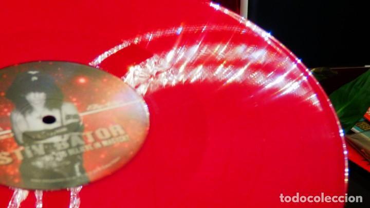 Discos de vinilo: STIV BATOR ( Lords of the new Church / Dead Boys ) Do You Believe In Magyk? LP Vinilo Rojo Precintad - Foto 11 - 177653514